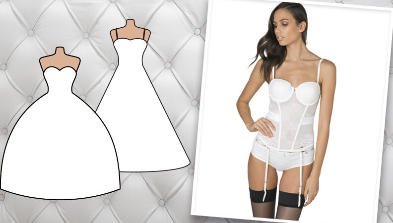 MARIAGE. Quelle lingerie porter sous sa robe de mariée? L