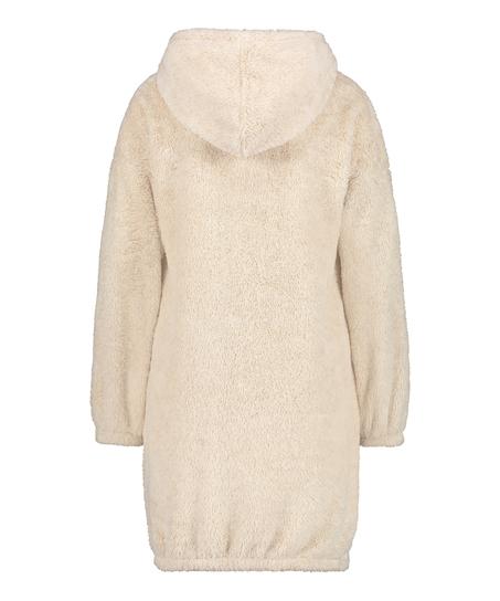 Robe snuggle polaire femme , Beige