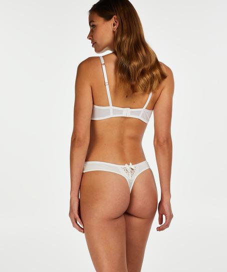String Cardi, Blanc