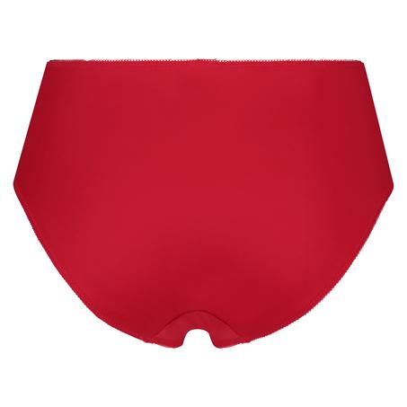 Slip taille haute Diva, Rouge