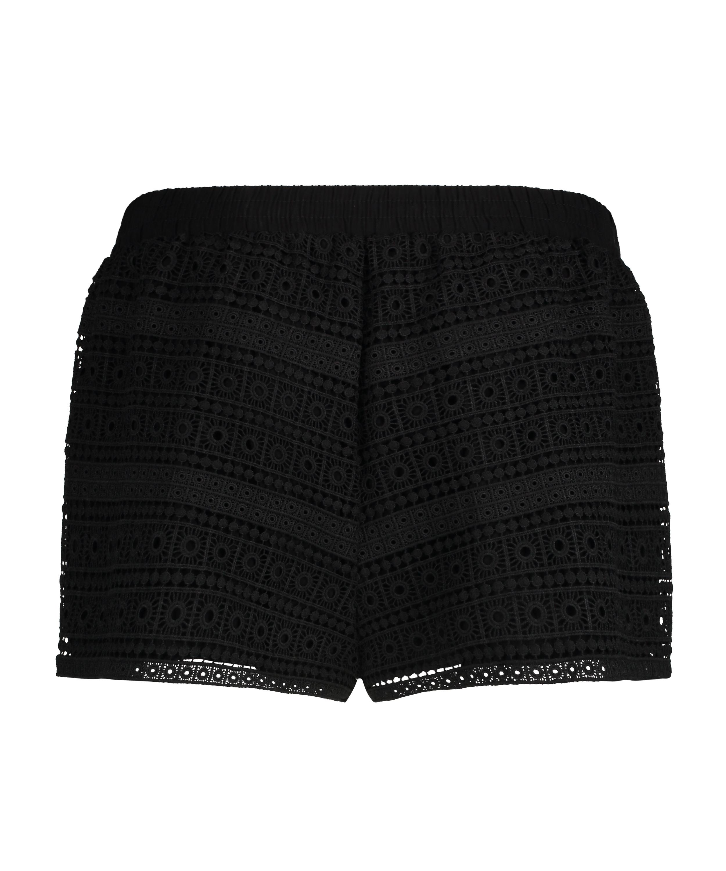 Short Crochet, Noir, main