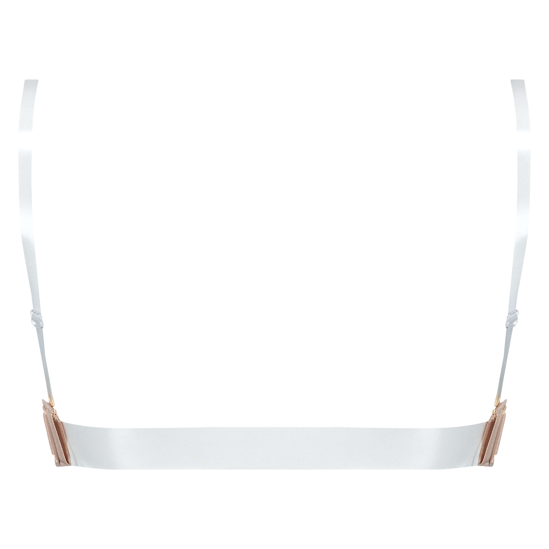 Soutien-gorge à armatures préformé  transparent back, Beige, main