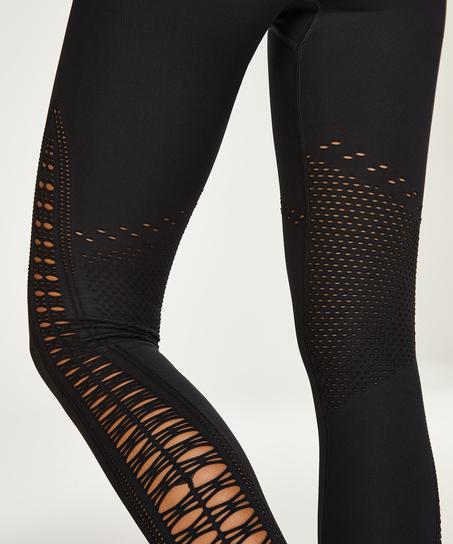 HKMX Legging taille haute sans couture Karma, Noir