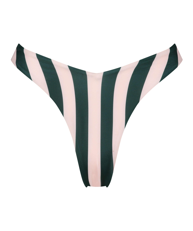 Bas de bikini échancré Santa Rosa, Vert, main