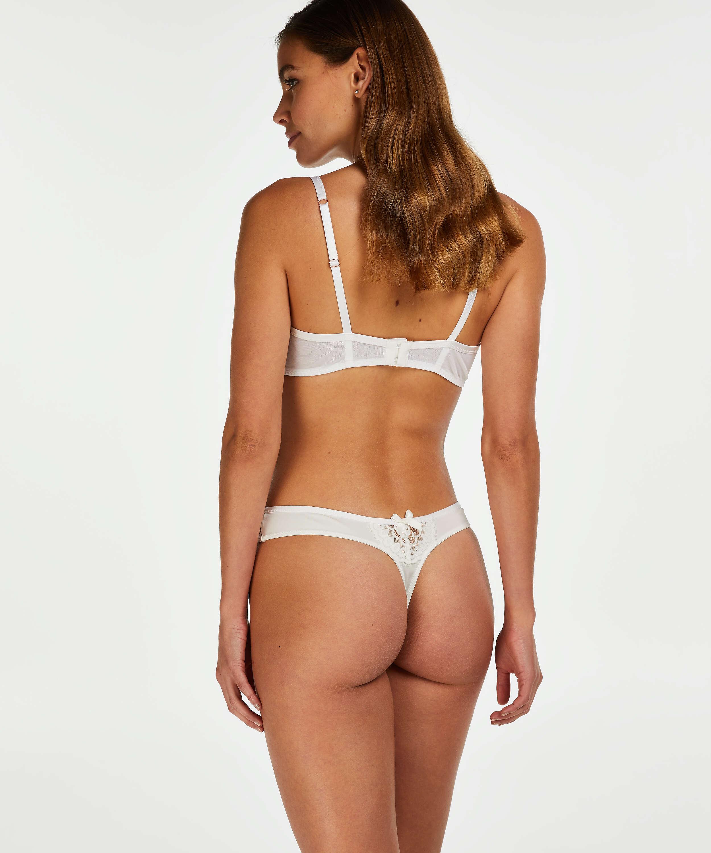 String Cardi, Blanc, main