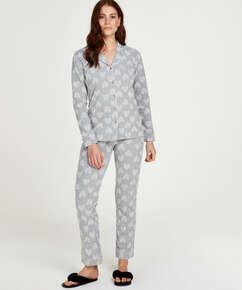 Pyjama Boyfriend Heart, Gris
