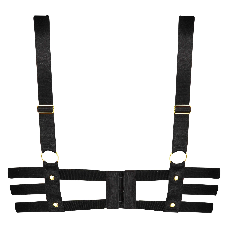 Soutien-gorge à armatures préformé push-up Shadow, Noir, main