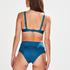 Anneau non ajusté haut de bikini Sunset Dreams, Bleu