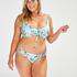 Bas de bikini slip brésilien Bea, Bleu