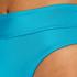 Bas de bikini échancré Celine, Bleu