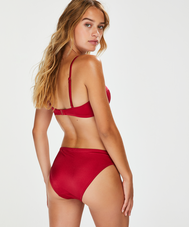 Bas de bikini Rio Lola, Rouge, main