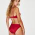 Bas de bikini Rio Lola, Rouge