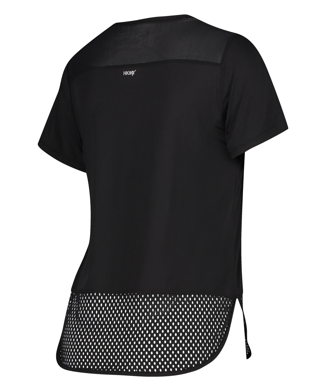 T-shirt Performance HKMX, Noir, main