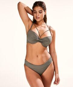 Slip de bikini à rabat Dream, Vert