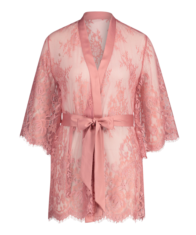 Kimono Lace Isabelle, Rose, main