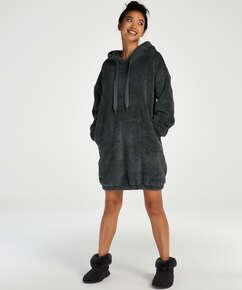 Robe snuggle polaire femme , Vert