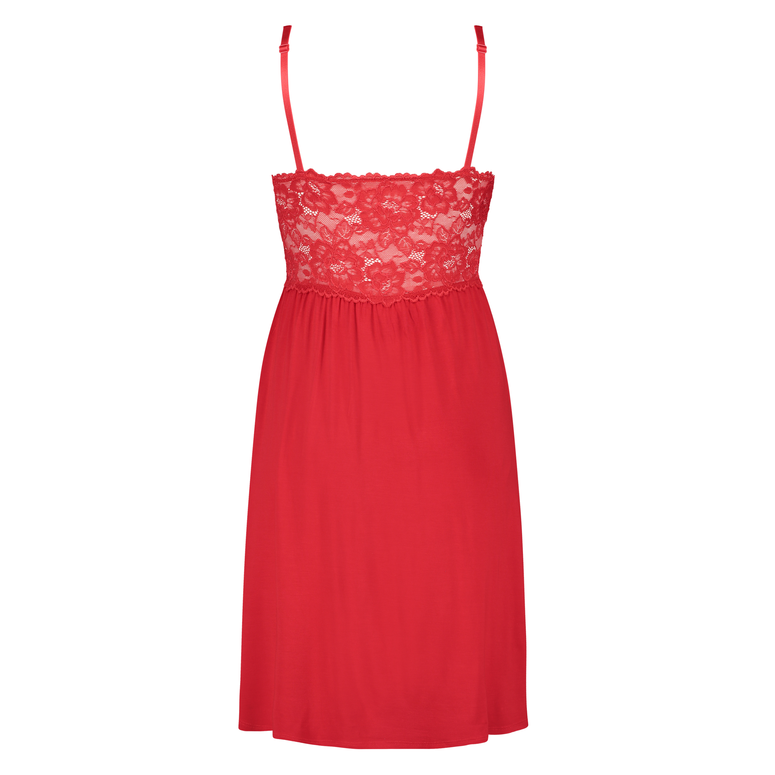 Nuisette Modal Lace, Rouge, main