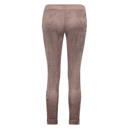 Pantalon de jogging Velours, marron