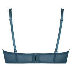 Soutien-gorge à armatures préformé sans bretelles Maya, Bleu