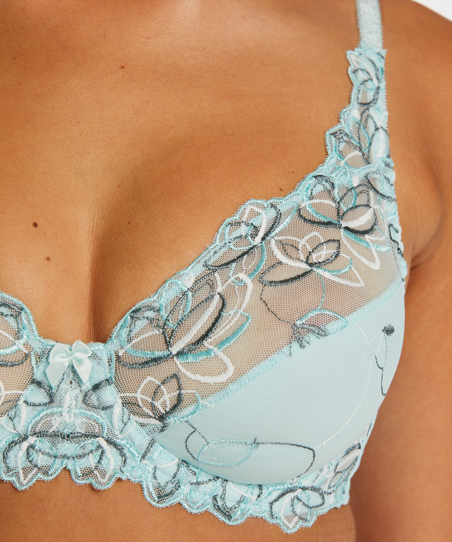 Soutien-gorge à armatures non-préformé Diva, Bleu, main