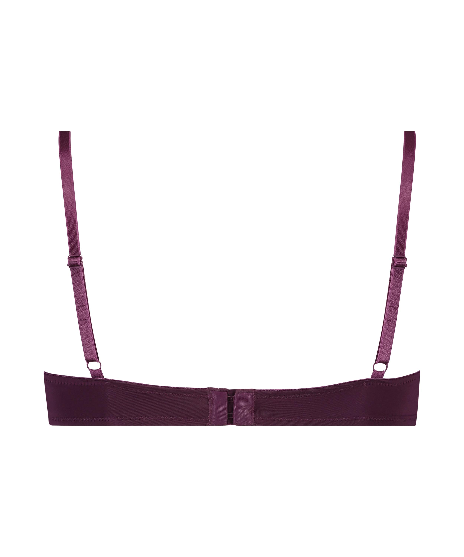 Soutien-gorge à armatures préformé Plunge, Violet, main
