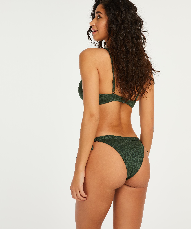 Haut de bikini à armatures non préformé Tonal, Vert, main