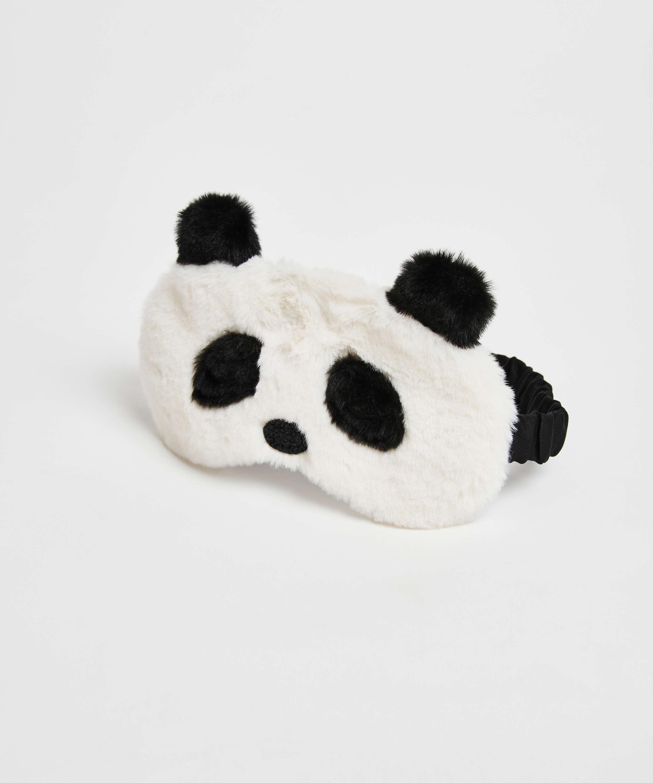 Masque de sommeil Cute Panda, Blanc, main