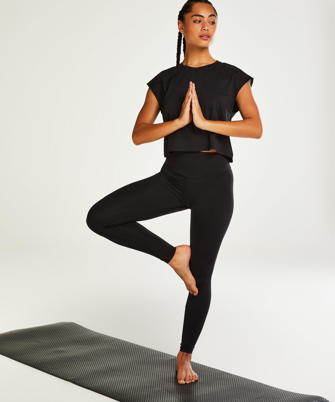 HKMX Legging taille haute Make Me Zen , Noir, main