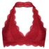 Brassière Halter Lace, Rouge