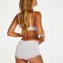 Maxi culotte rio Secret lace, Blanc