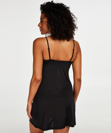 Fond de robe lissant - Level 1, Noir
