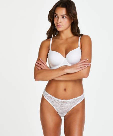 Soutien-gorge à armatures préformé Angie, Blanc