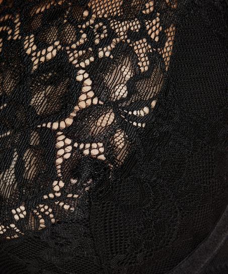 Soutien-gorge à armatures non-préformé Latisha, Noir