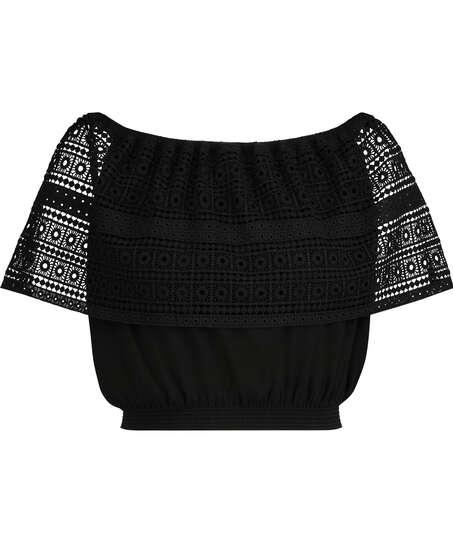 Haut Crochet, Noir