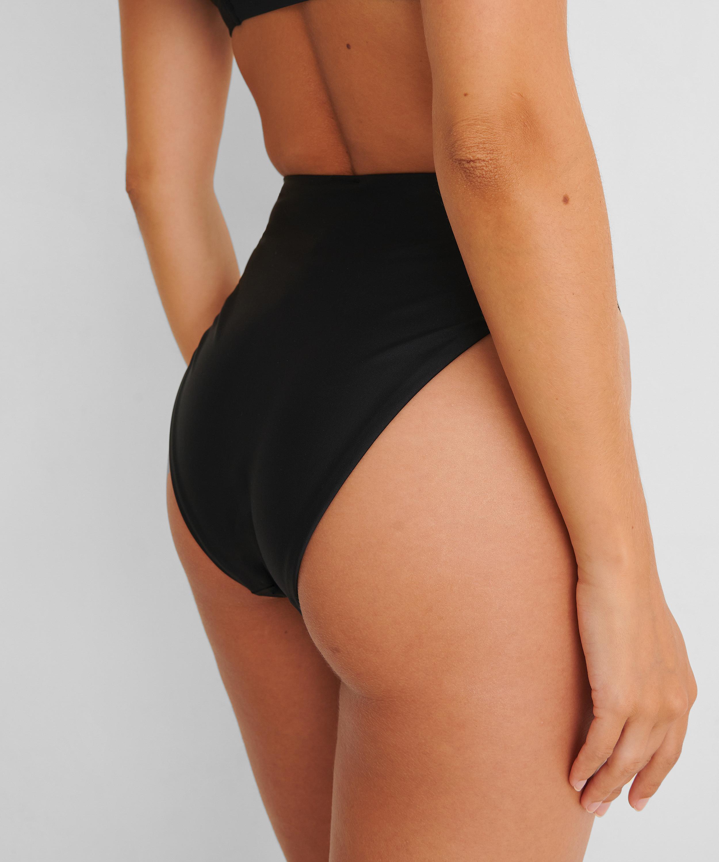Bas de bikini échancré Black HKM x NA-KD, Noir, main