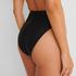 Bas de bikini échancré Black HKM x NA-KD, Noir
