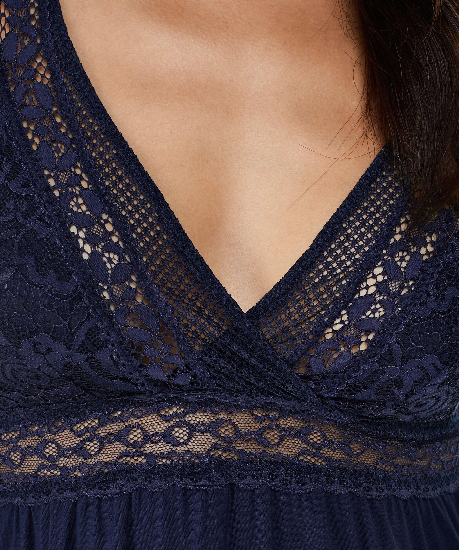 Nuisette Graphic Lace, Bleu, main