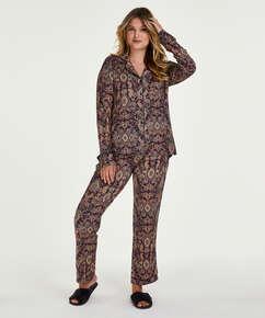 Ensemble pyjama Paisley, Bleu