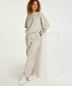 Petite Pantalon de jogging Cargo, Beige