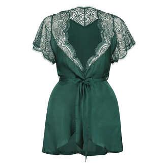Kimono Cap Sleeve, Vert