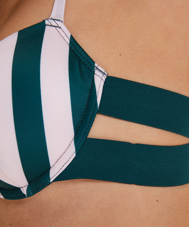 Haut de bikini à armatures préformé Santa Rosa, Vert, main