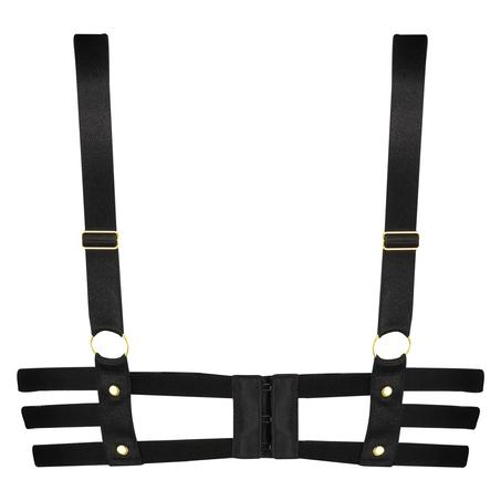 Soutien-gorge à armatures préformé push-up Shadow, Noir
