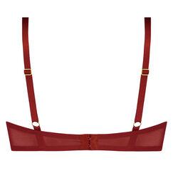 Soutien-gorge push-up à armatures préformé Aida, Rouge
