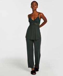Tenue de pyjama Vera Lace, Vert