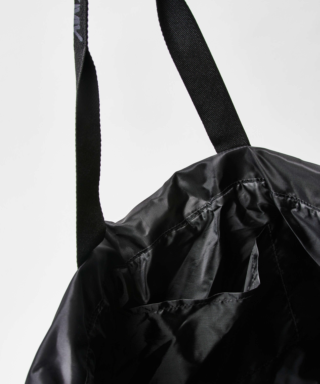 Tote bag HKMX, Noir, main
