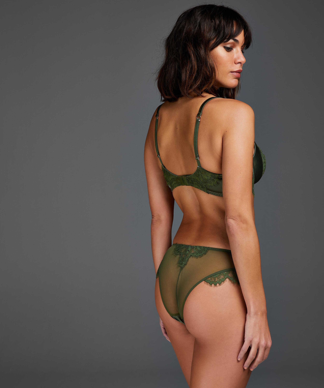 Culotte brésilienne Hannako, Vert, main
