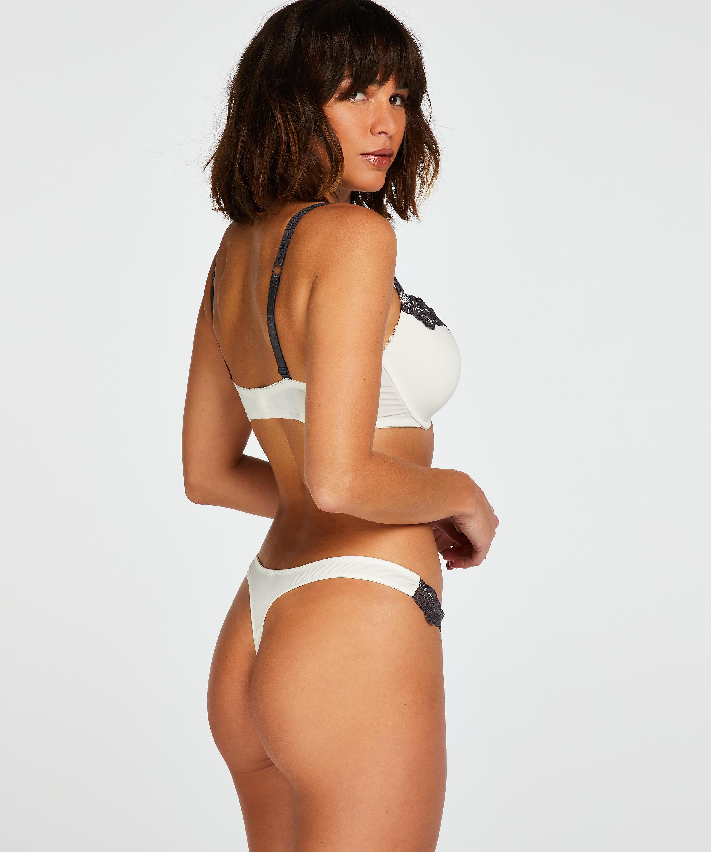 Soutien-gorge à armatures préformé Secret Lace, Blanc, main