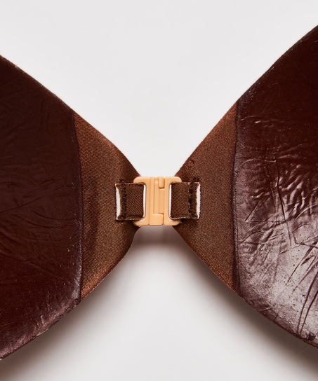 Soutien-gorge adhésif, marron