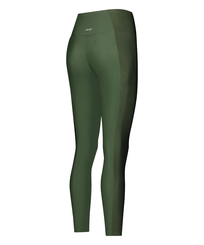 Legging de sport taille haute HKMX Shine On, Vert, main