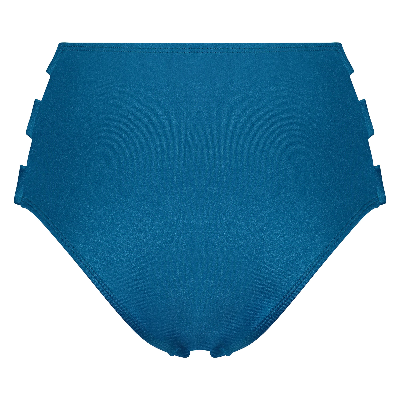 Slip de bikini taille haute Sunset Dream, Bleu, main